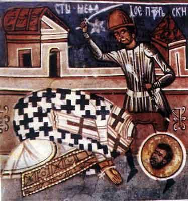 Sfîntului Sfinţitului Mucenic Metodie, episcopul Patarelor
