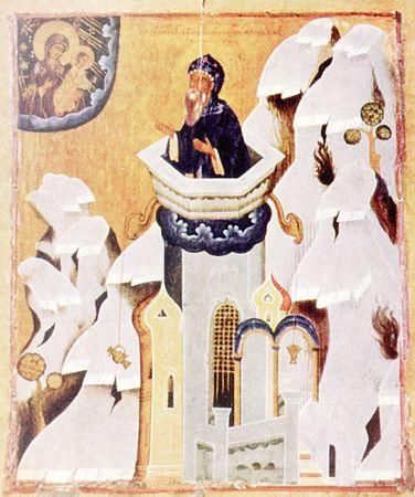 Cuviosul Simeon Stîlpnicul, din Muntele Minunat