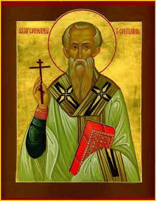Sfîntul Sfinţitul Mucenic Corneliu Sutaşul